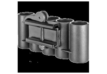 Патронташ FAB Defense на 5 патронов 12 калибра, быстросъемный на Weaver/Picatinny, пластик SH-5