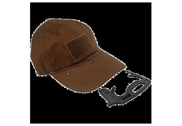 Кепка со встроенным комплексом самообороны Fab Defense GOTCHA (коричневый)