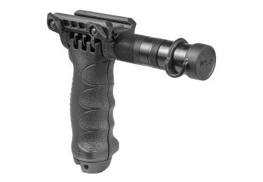 Рукоять-сошка на Weaver/Picatinny, встроен фонарь, высота 16-23 см, FAB Defense, FD-T-POD SL