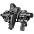 Комплект для модернизации Glock кал. 9х19 мм приклад складной, телескопический, щека, Fab Defense KPOS G2C