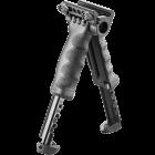 Рукоятка передняя на Weaver/Picatinny, сошки, регулируемая, складная, быстросъемная, пластик/алюминий, FAB Defense, FD-T-POD G2 QR