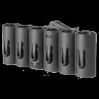 Патронташ FAB Defense на 6 патронов 20 калибра, быстросъемный на Weaver/Picatinny, пластик,SH-6