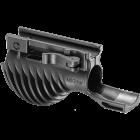 Рукоятка передняя на Weaver/Picatinny, с держателем фонаря 25.4/28.5 мм, быстросьемная, пластик, FAB Defense, MIKI 1 1/8