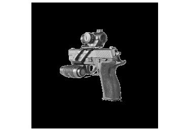Кронштейн вивер/пикатини для пистолетов Fab Defense USM алюминий(черный)