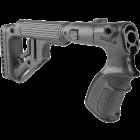 Приклад для Remington 870, рукоятка, пластик, встроена щека, складной, FAB Defense UAS-870