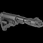 Приклад для АКМ складной (вместо нескладных), телескопический, компенсатор отдачи, FAB Defense M4-AK P SB