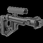 Приклад для АКСУ или АКС-74У складной (вместо складных), встроена щека, FAB Defense UAS-AKS P
