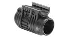 Крепление для фонаря или ЛЦУ на Weaver 19 мм FAB Defense PLA 3/4, пластик