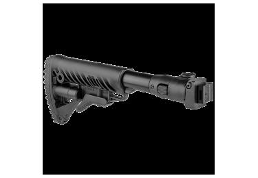Приклад для АКСУ или АКС-74У складной (вместо складных), телескопический, FAB Defense M4-AKS P