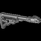Приклад для АКМ складной (вместо нескладных), телескопический, FAB Defense M4-AK P
