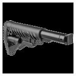 Приклад для АК, Сайга вместо складных, телескопический, FAB Defense M4-SAIGA