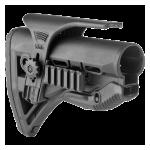 Задник телескопического приклада, щека, две планки Weaver/Picatinny, пластик, FAB Defense, FD-GL-SHOCK PCP