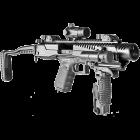 Комплект для модернизации Glock кал. 9х19 мм приклад складной, Fab Defense KPOS G2