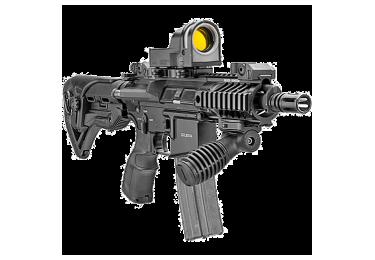 Рукоятка передняя на Weaver/Picatinny, регулируемая, складная, быстросьемная, пластик, FAB Defense, FD-T-FS