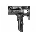 Рукоятка передняя на Weaver/Picatinny, с держателем фонаря Stinger, пластик, FAB Defense, FFS