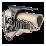 Щека FAB Defense для приклада GLR-16, пластик, регулируемая, две планки Weaver/Picatinny, FD-GPCP