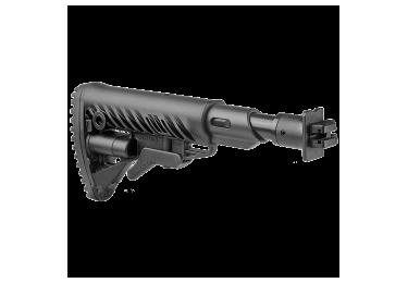 Приклад для ВПО-205 Вепрь 12 складной (вместо складных) телескопический, компенсатор отдачи, FAB Defense M4-VEPR FK SB