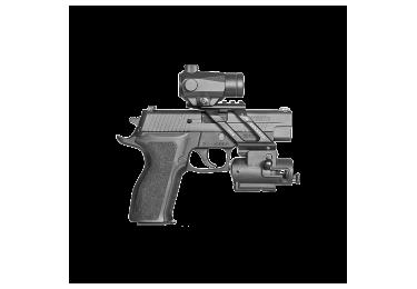 Стеклобой на планку Weaver/Picatinny для пистолетов Fab Defense WB2