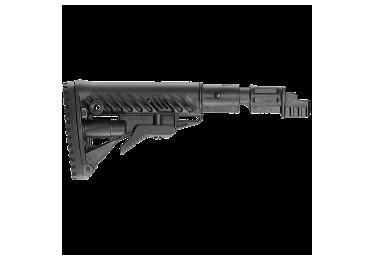 Приклад для АКМ вместо нескладных, телескопический, пластик, компенсатор отдачи, FAB Defense SBT-K47 FK