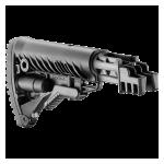 Приклад для АКМ, Сайга вместо нескладных, телескопический, пластик, FAB Defense RBT-K47 FK
