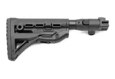 Приклад для АКМ складной (вместо нескладных), телескопический, FAB Defense GL-SHOCK-M4-AK-P