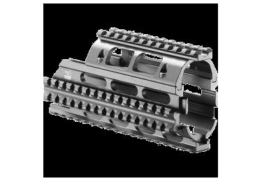 Кронштейн цевье для ВПО-205 и РПК, четыре планки Weaver/Picatinny, FAB Defense, FD-VFR-RPK