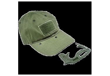 Кепка со встроенным комплексом самообороны Fab Defense GOTCHA (зеленый)