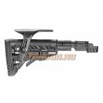 Приклад для АКМ вместо нескладных, телескопический, пластик, компенсатор отдачи, щека, FAB Defense SBT-K47 FK CP