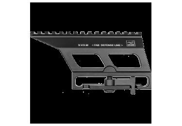 Кронштейн боковой быстросъемный с планкой Weaver/Picatinny, FAB Defense, FD-SVDM