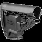 Задник телескопического приклада, пластик, магазин M16-M4 на 10 патронов, FAB Defense GL-MAG