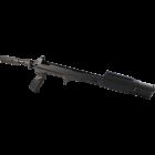 Ложе складное, телескопическое с амортизатором отдачи для СКС FAB Defense (без приклада) и амортизирующей трубкой M4SKSSBTUBE