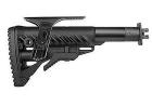 Приклад для ВПО-205 Вепрь 12 складной (вместо складных) телескопический, щека, FAB Defense M4 VEPR FK CP
