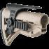 Щека FAB Defense для приклада GL-SHOCK, пластик, регулируемая, две планки Weaver/Picatinny, FD-GSPCP