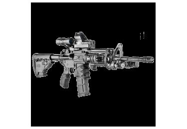 Рукоятка пистолетная FAB Defense на M16, M4 или AR15, прорезиненный пластик, AGR-43