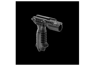 Рукоять-сошка на Weaver/Picatinny, быстросъемная, крепеж фонаря, высота 16-23 см, FAB Defense, T-POD FA