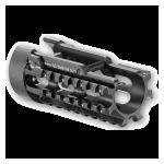Кронштейн цевье для MP5 Fab Defense MP-5K-RS, алюминий (черный)