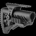 Задник телескопического приклада, щека, две планки Weaver/Picatinny, пластик, FAB Defense, FD-GLR 16 PCP