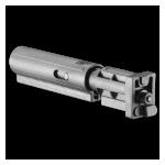 Трубка телескопического приклада для SBT-V58, пластик, компенсатор отдачи, FAB Defense SBT-V58