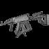 Рукоятка пистолетная с опорой для AK-47, AKM FAB Defense AK-Podium